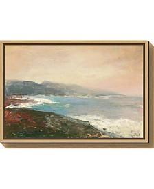 Amanti Art Lands End Crop by Julia Purinton Canvas Framed Art