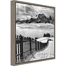 Amanti Art Elements by Swapnil. Canvas Framed Art