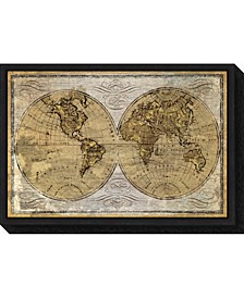 Worldwide I by James Wiens Canvas Framed Art