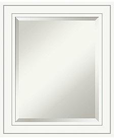 Amanti Art Craftsman 21x25 Bathroom Mirror