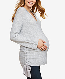 Jessica Simpson Maternity Ruched Sweater