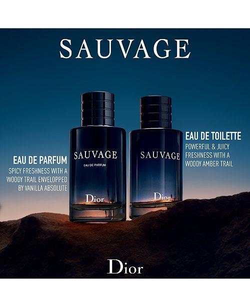 dior men 39 s sauvage eau de parfum spray 3 4 oz all. Black Bedroom Furniture Sets. Home Design Ideas