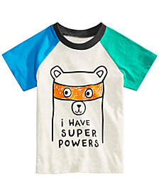 First Impressions Toddler Boys Colorblocked Cotton T-Shirt, Created for Macy's