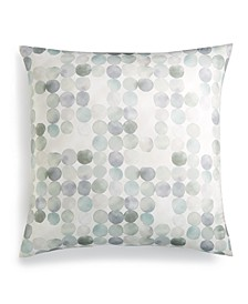 Seaglass Cotton Seafoam European Sham, Created for Macy's
