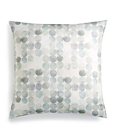 Hotel Collection Seaglass Cotton Seafoam European Sham, Created for Macy's