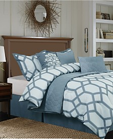 Nanshing Nadia 7 PC Comforter Set, Queen