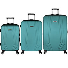 Travel Select Luggage Paris 3-Piece Hardside Spinner Luggage Set