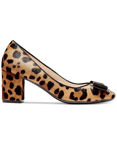 1c614bde78cd Cole Haan Tali Bow Pumps   Reviews - Pumps - Shoes - Macy s