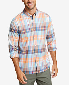 Nautica Men's Casual Warm Plaid Shirt