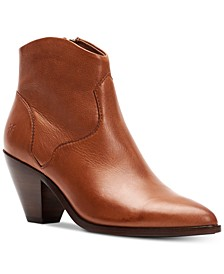 Women's Lila Western Leather Booties