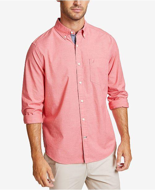 Nautica Men's Solid Fade Shirt