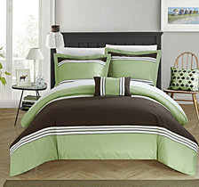 Chic Home Madison 4 Pc King Duvet Cover Set