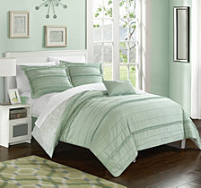 Chic Home Eliza 4 Pc Queen Duvet Cover Set