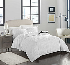 Chic Home Millbury 4-Pc. Duvet Cover Sets