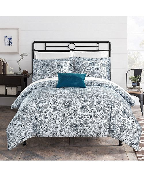 Chic Home Regent's Park 3 Pc Twin Duvet Cover Set