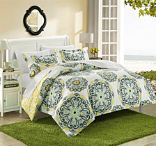 Chic Home Ibiza 3 Pc King Duvet Cover Set