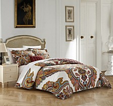 Belmont 4 Pc Queen Duvet Cover Set