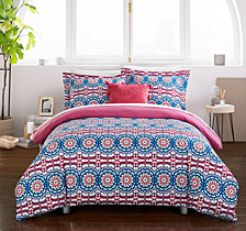 Chic Home Gavin 4 Pc Full Duvet Cover Set
