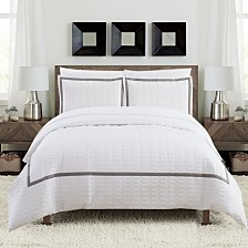 Chic Home Faige 3-Pc. Duvet Cover Sets
