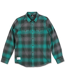 LRG Men's Interference Flannel Shirt