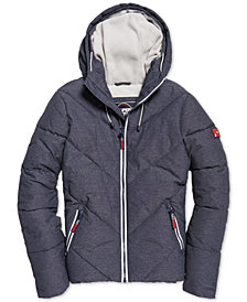 Superdry Men's Quilted Hooded Jacket