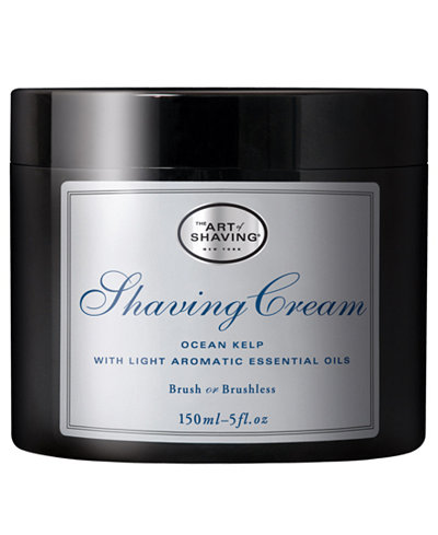 The Art of Shaving Ocean Kelp Shaving Cream, 5 oz