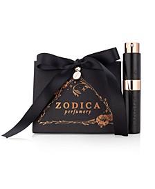Perfumery Aquarius Zodiac Perfume Twist & Spritz Travel Spray Gift Set .27oz
