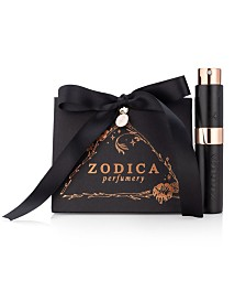 Zodica Perfumery Aquarius Zodiac Perfume Twist & Spritz Travel Spray Gift Set .27oz
