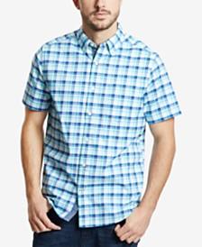 Nautica Men's Oxford Plaid Shirt
