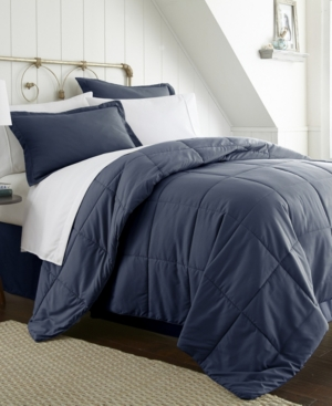 A Beautiful Bedroom 8 Piece Bed in a Bag Set by The Home Collection, Full Bedding