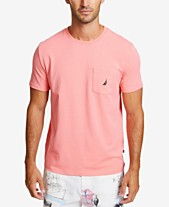 ea81301b Nautica Men's Solid Stretch Anchor T-Shirt