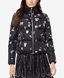 MICHAEL Michael Kors Printed Puffer Jacket