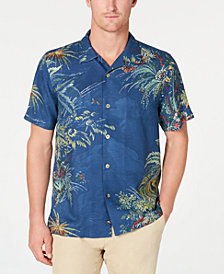 Tommy Bahama Men's Fireworks Finale Floral Hawaiian Shirt