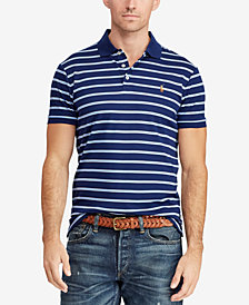 Polo Ralph Lauren Men's Big & Tall Classic Fit Striped  Polo