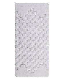 Melange 17x24  Cotton Bath Rug