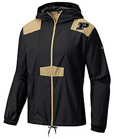 Columbia Men's Purdue Boilermakers Flashback Windbreaker Jacket