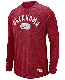 Nike Men's Oklahoma Sooners Stadium Long Sleeve T-Shirt