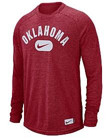 Nike Men's Oklahoma Sooners Stadium Long Sleeve T-Shirt