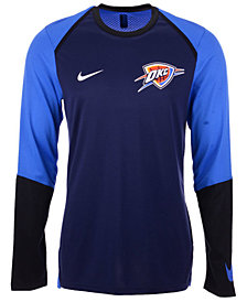 Nike Men's Oklahoma City Thunder Dry Long Sleeve Top