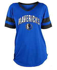 5th & Ocean Women's Dallas Mavericks Mesh T-Shirt