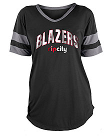 5th & Ocean Women's Portland Trail Blazers Mesh T-Shirt