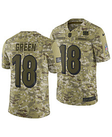 Nike Men's A.J. Green Cincinnati Bengals Salute To Service Jersey 2018