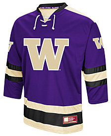 Colosseum Men's Washington Huskies Fashion Hockey Jersey
