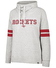 '47 Brand Women's Houston Rockets Offsides Funnelneck Sweatshirt