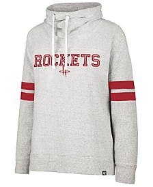 '47 Brand Women's Houston Rockets Offsides Funnelneck Sweatshirt