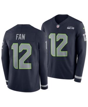 Nike Men's Fan #12 Seattle Seahawks Therma Jersey
