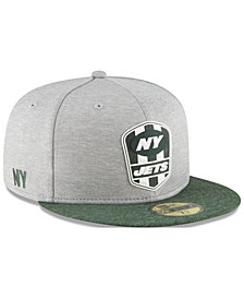 New Era Boys' New York Jets Sideline Road 59FIFTY FITTED Cap