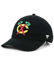 Chicago Blackhawks Fan Relaxed Adjustable Strapback Cap