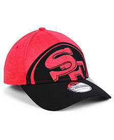 New Era San Francisco 49ers Oversized Laser Cut Logo 39THIRTY Cap