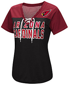 G-III Sports Women's Arizona Cardinals Shake Down Jersey T-Shirt